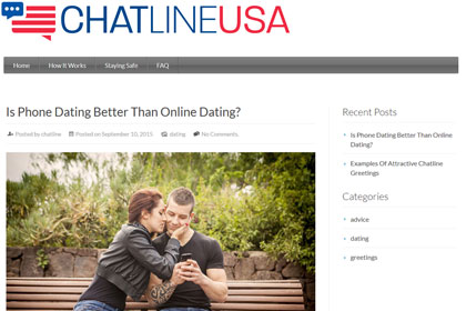 Phone dating chat line numbers